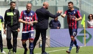 """Crotone, Zenga: """"Bella spallata al campionato ma non siamo salvi"""""""
