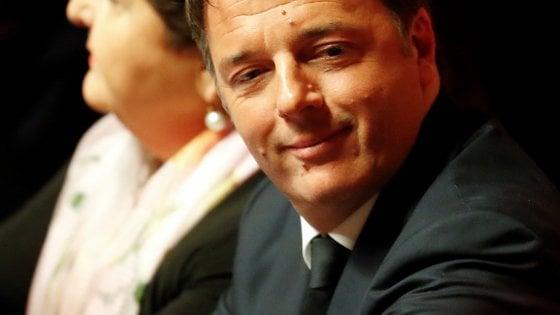 """Renzi: """"Chi ha perso non può governare. Incontro con Di Maio sì, fiducia a governo M5s no"""""""