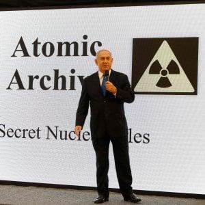 """Iran, Netanyahu accusa: """"Abbiamo le prove di un programma atomico segreto"""""""