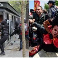 Primo maggio di proteste: scontri a Parigi e Istanbul