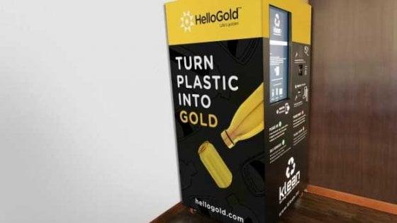 Malesia, arrivano le macchinette gialle: oro in cambio di plastica da riciclare