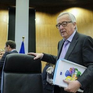 Il presidente Juncker