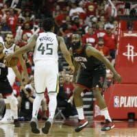 Basket, playoff Nba: impresa Utah, sbanca Houston e porta la serie in parità