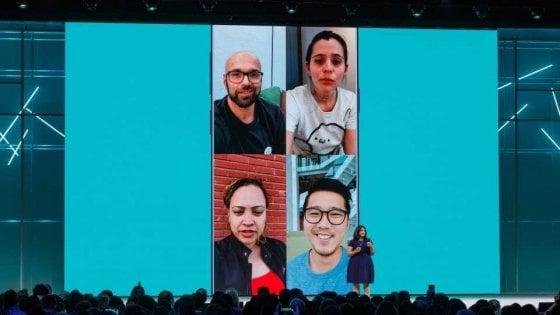 WhatsApp, arrivano videochiamate di gruppo e adesivi
