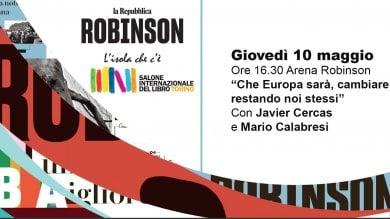 10 cartoline da Robinson: ecco gli appuntamenti al Salone del Libro di Torino nell'Arena di Repubblica