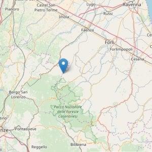 Scossa di terremoto di magnitudo 3.6 in provincia di Forlì-Cesena. Paura a Marradi
