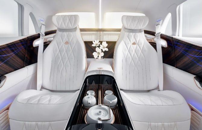 Vision Mercedes-Maybach Ultimate Luxury, il lusso è estremo