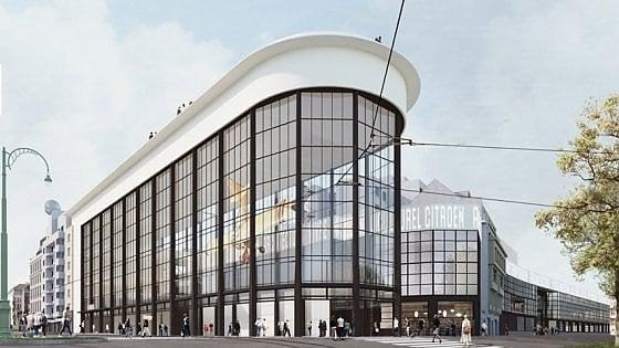 """Il Centre Pompidou apre a Bruxelles: """"Trasformeremo una fabbrica d'auto in una città culturale"""""""