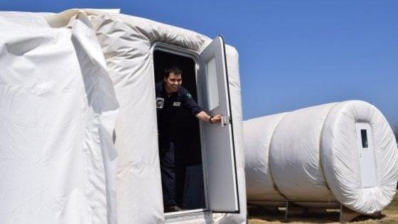 Nella casa gonfiabile come su Marte: al via la simulazione sul prototipo