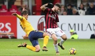 Milan-Verona 4-1: rossoneri più vicini all'Europa, veneti in B