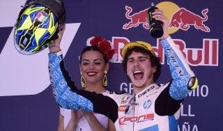 Jerez, la Moto2 parla ancora italiano: vince Baldassarri, terzo Bagnaia