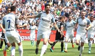 Udinese-Inter 0-4: in gol Ranocchia, Rafinha, Icardi e Borja Valero