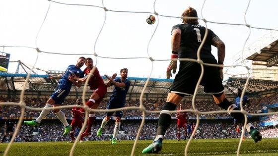 Inghilterra, Chelsea batte Liverpool: Conte vede la Champions. Arsenal saluta Wenger