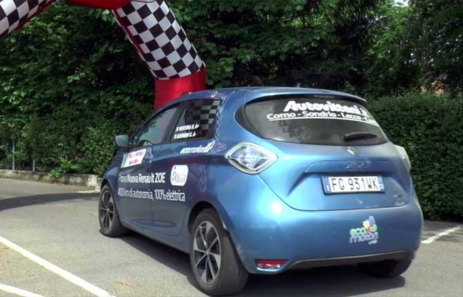 """Alla Renault Zoe la prima tappa della """"Green Endurance 2018"""""""