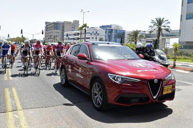 Alfa Romeo al Giro d'Italia 2018