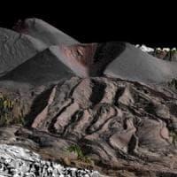 Etna, un drone per scoprire la struttura superficiale delle colate di lava