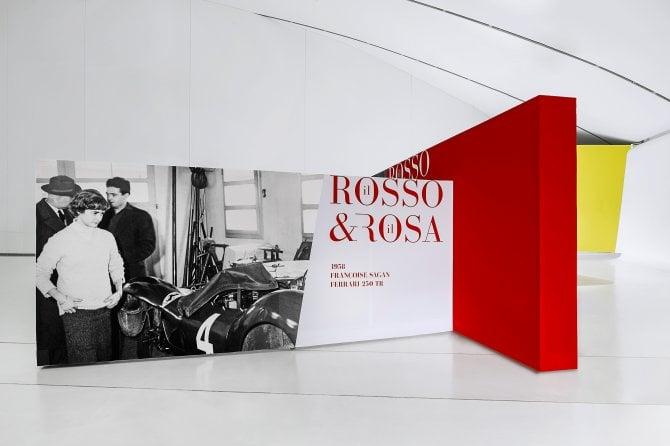 """""""Il Rosso & il Rosa"""", mostra donne e Ferrari al Museo Enzo di Modena"""