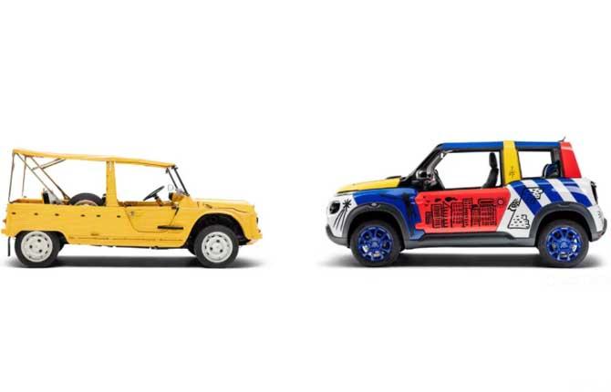 Citroën, una art car per i 50 anni della Mehari