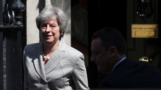 La premier britannica, Theresa May