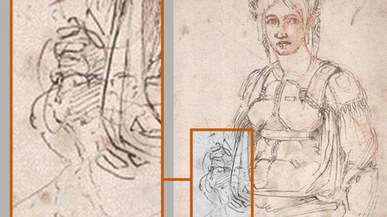 Lo studio: Michelangelo era mancino, usò destra per pregiudizi