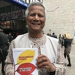Il premio Nobel, Yunus: un libro per eliminare povertà , disoccupazione e inquinamento