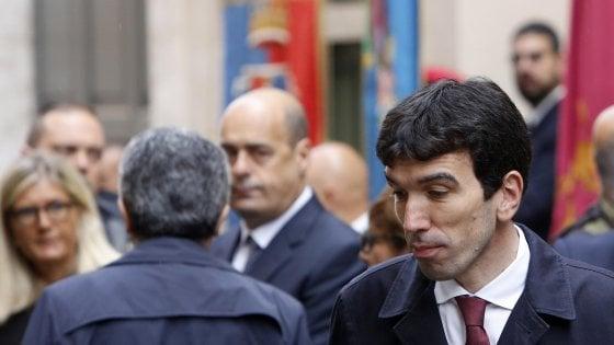 """Trattativa Lega-M5s,  Martina: """"Pd alternativa a deriva populista"""". Cuperlo: """"Chi auspicava questo esito si faccia delle domande"""""""
