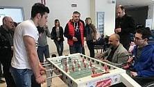 Potenza senza barriere: all'ospedale San Carlo il calcio balilla è terapia
