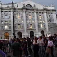 Ipotesi di governo Lega-M5s, Piazza Affari in rosso. Tensione sullo spread
