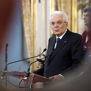 """Mattarella: """"Pensare di farcela senza l'Europa è ingannare i cittadini: il sovranismo è inattuabile"""""""