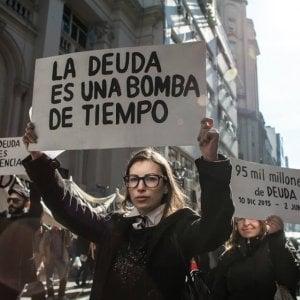 L'Argentina scende in piazza: scioperi e manifestazione contro il Fondo monetario