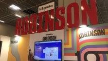 Video InstagramStory                                      Arena Robinson e dintorni,                         che il Salone cominci...