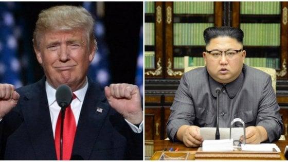 """Usa-Corea del Nord, l'annuncio di Trump: """"Vertice con Kim il 12 giugno a Singapore"""""""