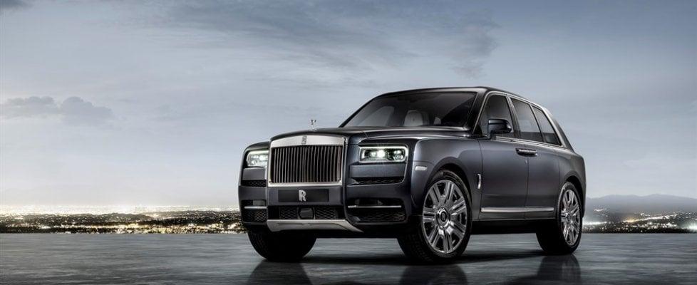 Rolls Royce Cullinan, il colosso dei Suv con il nome di un diamante