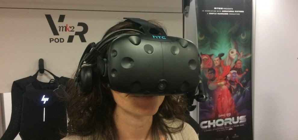 Tra l'horror di Bela Lugosi e la natura selvaggia, a Cannes c'è la realtà virtuale