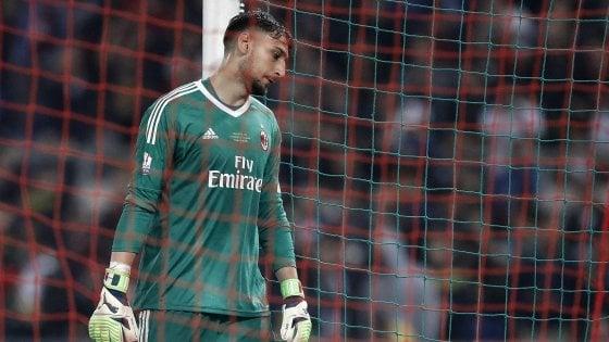Milan, Donnarumma rialza la testa: ''Errori capitano ma guardo avanti''