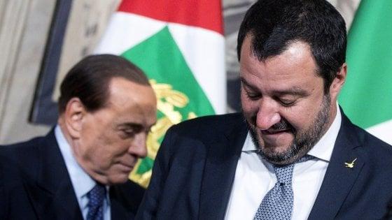 """Riabilitazione Berlusconi, Forza Italia esulta. Salvini: """"Felice per lui e per la democrazia"""""""