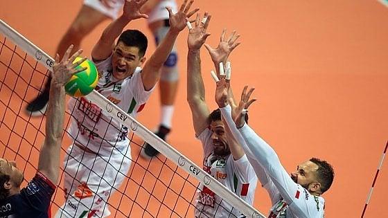 Volley, Champions League: Lube in finale, Perugia battuto. Svanisce il sogno della finale tutta italiana