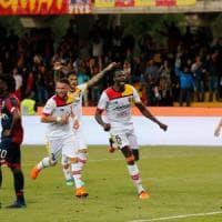 Benevento-Genoa 1-0, i sanniti si congedano dalla A tra gli applausi