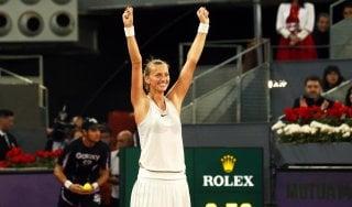 Tennis, Roma: Sonego al secondo turno. Forfait della Kvitova