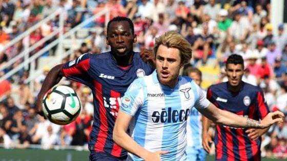 Crotone-Lazio 2-2: Milinkovic gela lo Scida, tutto rinviato all'ultima giornata