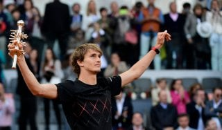 Tennis, Atp Madrid: Thiem battuto, il titolo va a Zverev