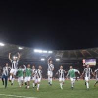 Roma-Juventus 0-0, trionfo bianconero: è il settimo scudetto di fila
