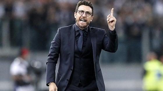 """Roma, Di Francesco: """"Resto per far crescere ancora la squadra. Ora regole precise per tutti"""""""