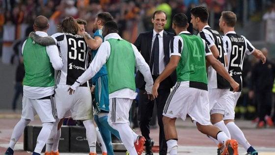 """Juventus, Allegri: """"Se non mi mandano via, resto anche il prossimo anno"""""""