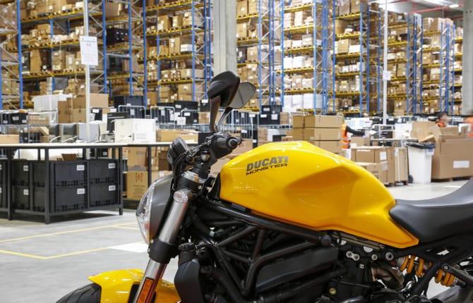 Ducati e Lamborghini, inaugurato il nuovo hub logistico