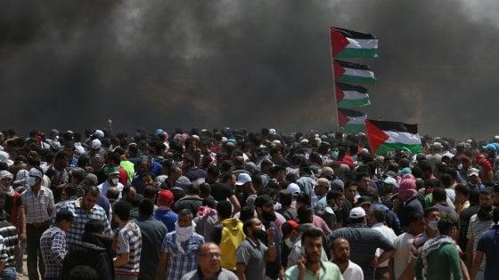 Inaugurazione ambasciata USA: violenti scontri a Gaza, morti e feriti