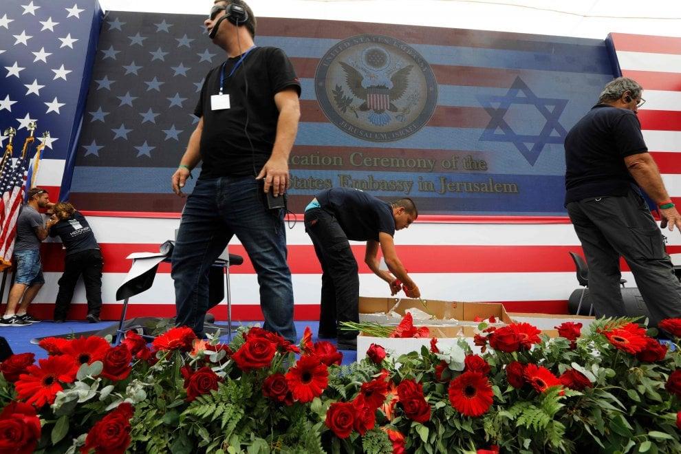 Ambasciata Usa a Gerusalemme, l'inaugurazione