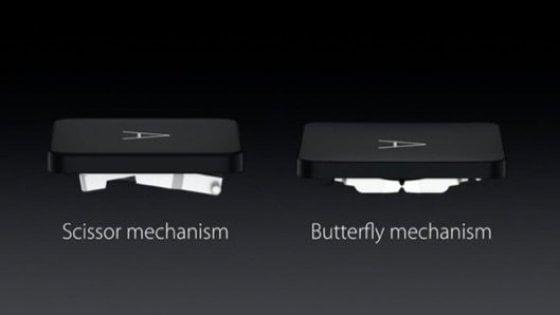Apple rischia class action per le tastiere a farfalla dei Macbook Pro