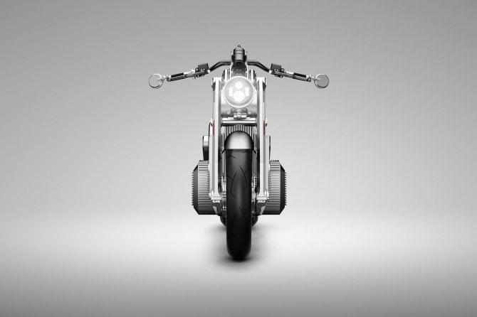 La moto elettrica Zeus