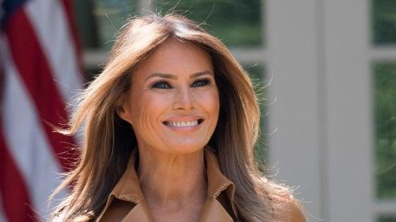 Melania Trump operata, la first lady ricoverata in ospedale
